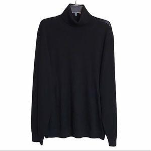 FRANK AND OAK Merino Wool Sweater Turtleneck